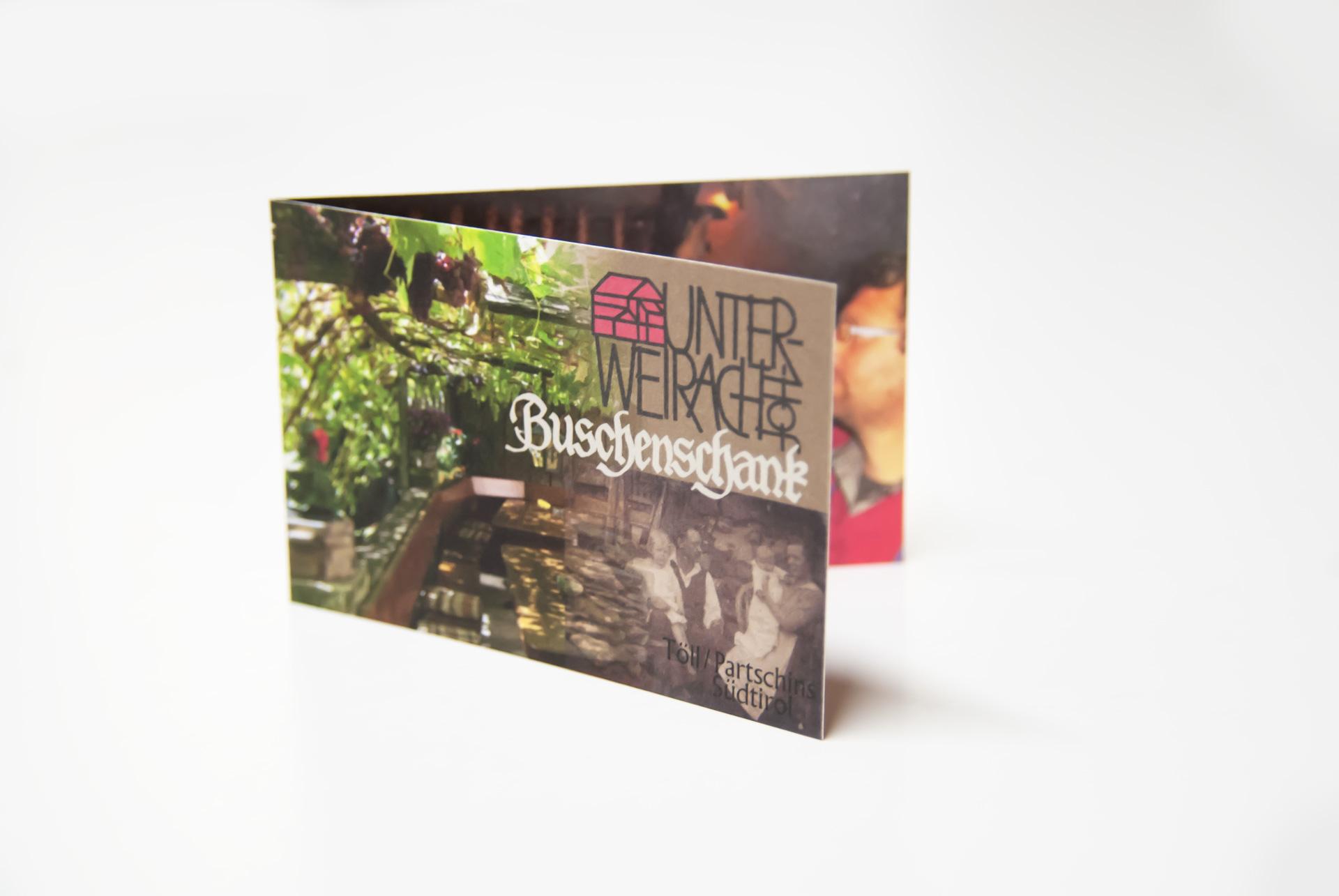 Visitenkarte Buschenschank