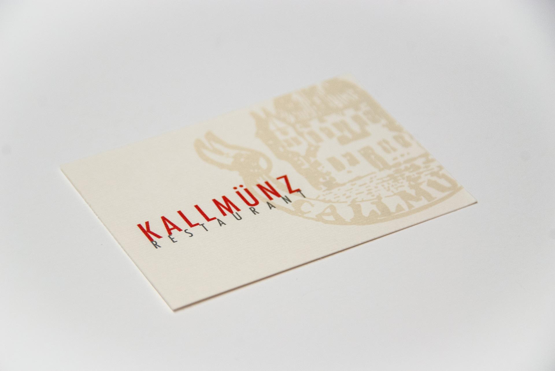 Visitenkarte Kallmünz